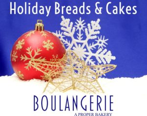 Holiday Breads and Cakes Kennebunk Bakery