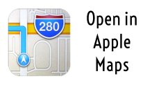 Apple Maps Directions to Boulangerie Kennebunk Bakery