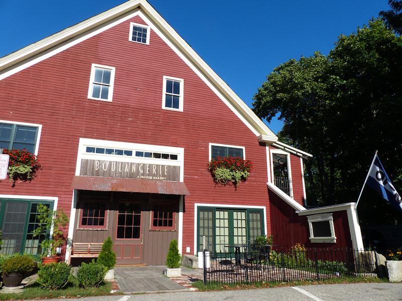 Exterior View - Boulangerie Bakery Kennebunk, Maine