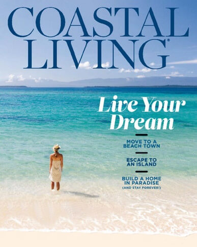 Coastal Living Magazine Cover - January 2018