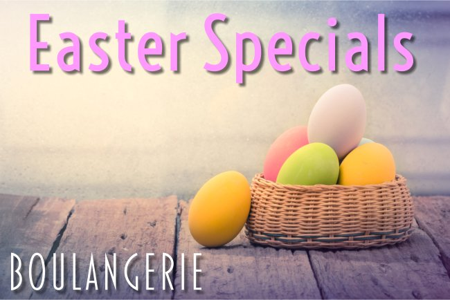 Kennebunk Maine Bakery Easter Specials 2017