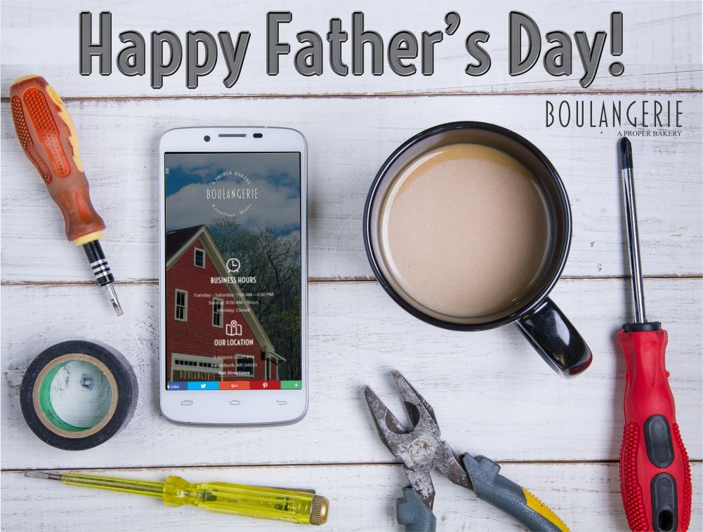 Father's Day 2017 Kennebunk Bakery Specials