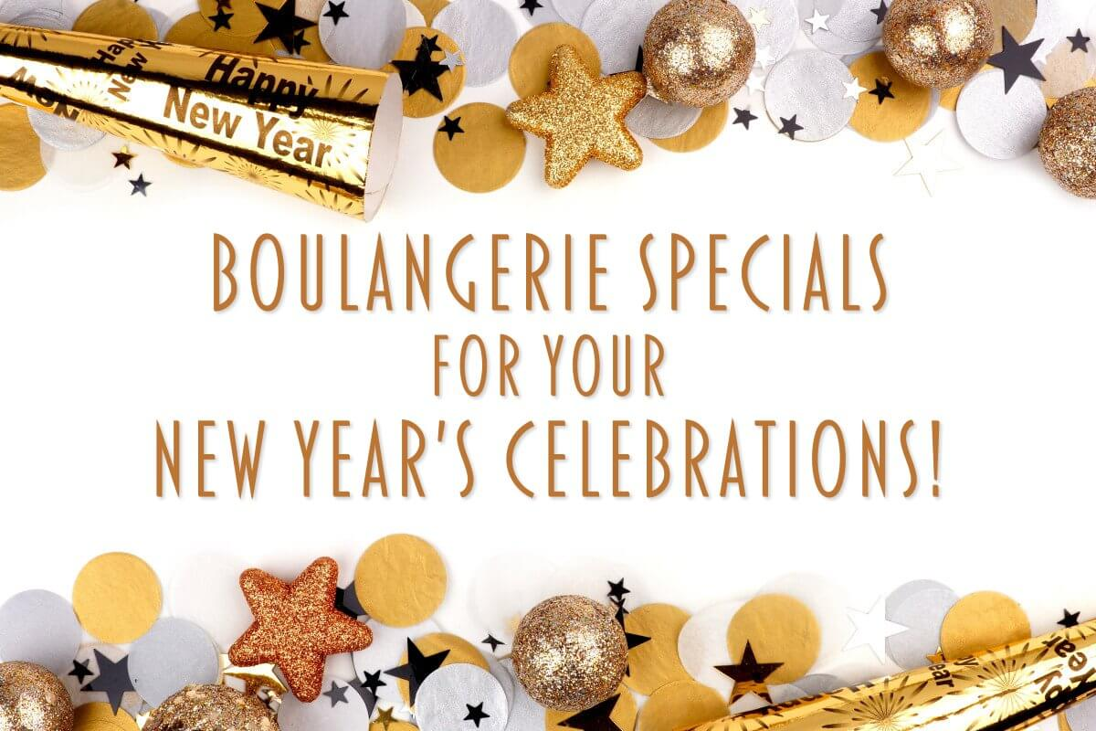Kennebunk Maine New Year's Bakery Specials