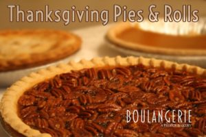 Thanksgiving Pies & Rolls