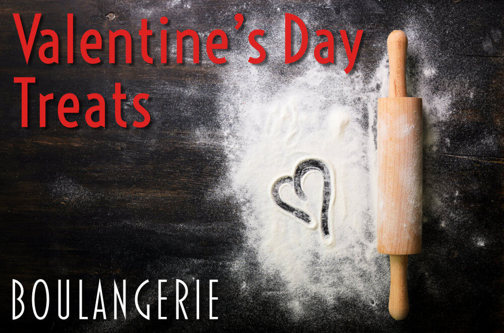 Valentine's Treats from Boulandgerie Bakery Kennebunk